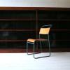 Large Vintage Oak Bookcase1