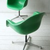 Vintage Fibreglass Desk Chair by Charles Eames for Herman Miller1