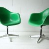 Vintage Fibreglass Desk Chair by Charles Eames for Herman Miller2