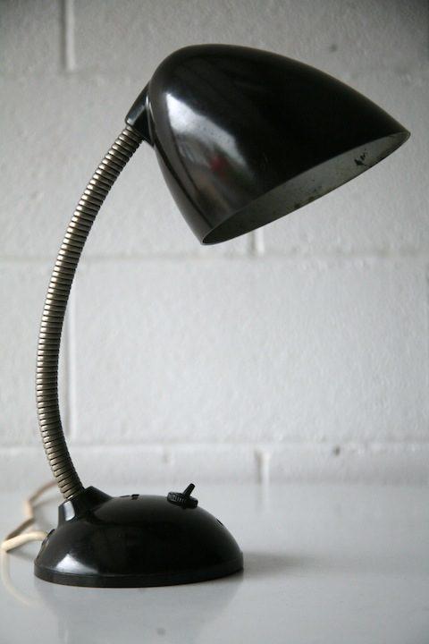 1940s Bakelite Desk Lamp