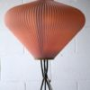 1950s French Pleated Floor Lamp