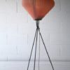 1950s French Pleated Floor Lamp 7