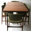 1960s G Plan Dining Table and 6 Chairs 1
