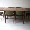 1960s G Plan Dining Table and 6 Chairs 2
