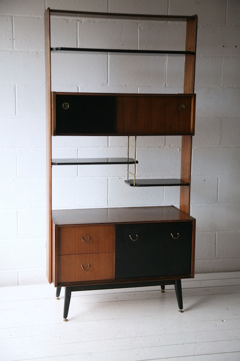 1960s Room Divider by G Plan Cream and Chrome