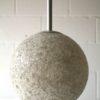1960s Large Plastic Ceiling Light