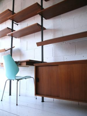 1960s Pira String Wall Shelving 1