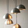 1970s Aluminium Ceiling Lights