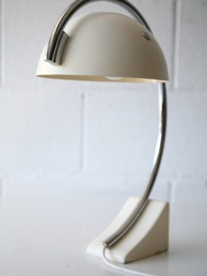 1970s Italian Chrome Desk Lamp