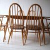 Ercol Dining Table and 6 Chairs2