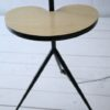 Large 1950s Floor Lamp with Side Table 4