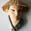 1950s Decorative Chalkware Heads4