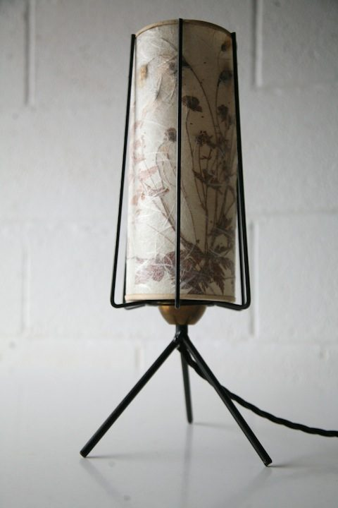 1950s Floral Lamp Lamp 1