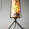 1950s Floral Lamp Lamp