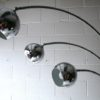 Large 1970s Chrome and Marble Floor Lamp2