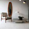 Teak Mirror by Franco Campo and Carlo Graffi4