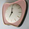 Vintage 1950s Ceramic Wall Clock