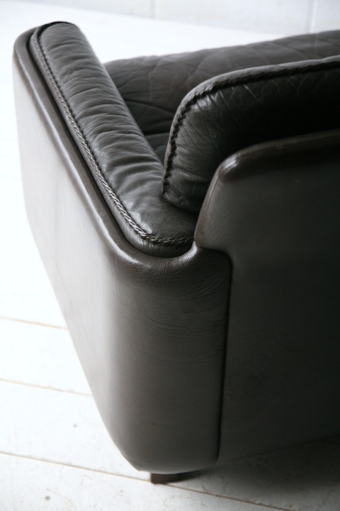 2 Seater Sofa By Vatne Mobler Cream And Chrome