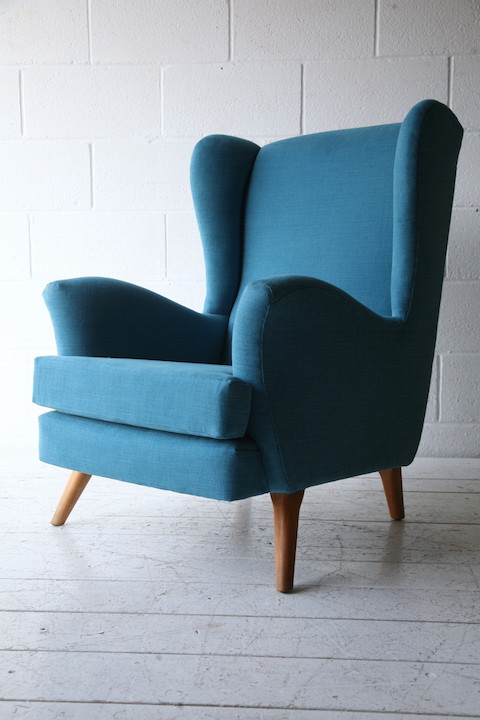1950s Armchair By Everest Uk Cream And Chrome