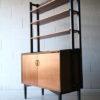 1960s Teak Shelving Unit + Cabinet b 4