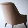 Cream and Blue 1950s Chair2