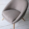 Grey 1950s Side Chair