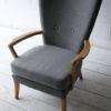 Howard Keith 1950s Grey Chair 1