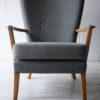 Howard Keith 1950s Grey Chair 3