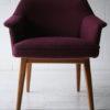 Purple 1950s Side Chair3