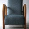 1930s Oak Slipper Chair3