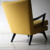 1950s Yellow Black Armchair 4
