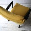 1950s Yellow Black Armchair 5