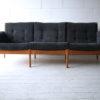 1960s Oak Framed Sofa