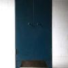 Blue Industrial Bank of Drawers by Milner Safe Co Ltd