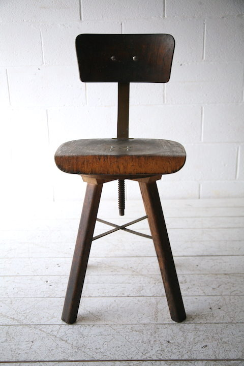 Industrial Wooden Chair1