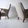 Pair of 1950s Scandinavian Teak Armchairs 1