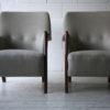 Pair of 1950s Scandinavian Teak Armchairs 2