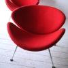 Pair of Orange Slice Chairs by Pierre Paulin for Artifort