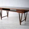 Vintage Rosewood Coffee Table by E.W. Bach 2