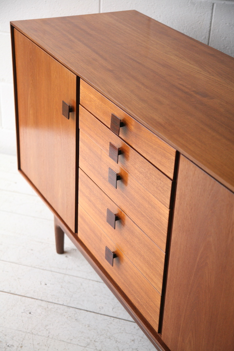 best website 0e166 39e9d Vintage Sideboard by Ib Kofod Larsen | Cream and Chrome