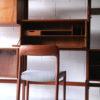 Large Modular Teak Shelving Unit 7