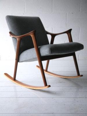 Teak Rocking Chair by Ingmar Relling for Westnofa Norway 5