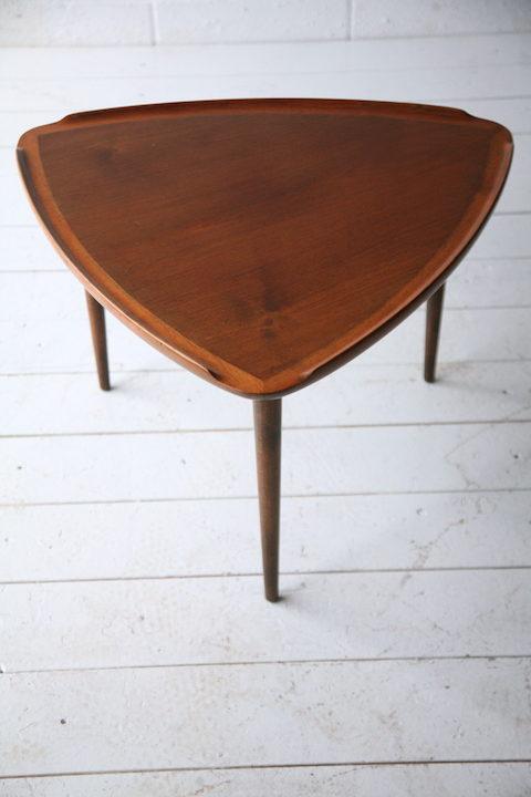 Triangular 1960s Coffee Table 1