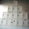 16 Vintage White Pine Cabinets