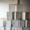16 Vintage White Pine Cabinets 4