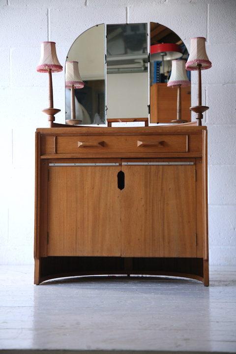 1950s E Gomme Oak Dressing Table