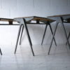 1950s Formica & Aluminium Stacking Tables by Esavian 1