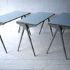 1950s Formica & Aluminium Stacking Tables by Esavian