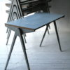 1950s Formica & Aluminium Stacking Tables by Esavian 3