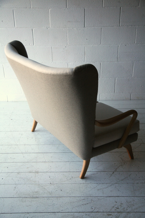 1950s Sofa By Howard Keith Cream And Chrome